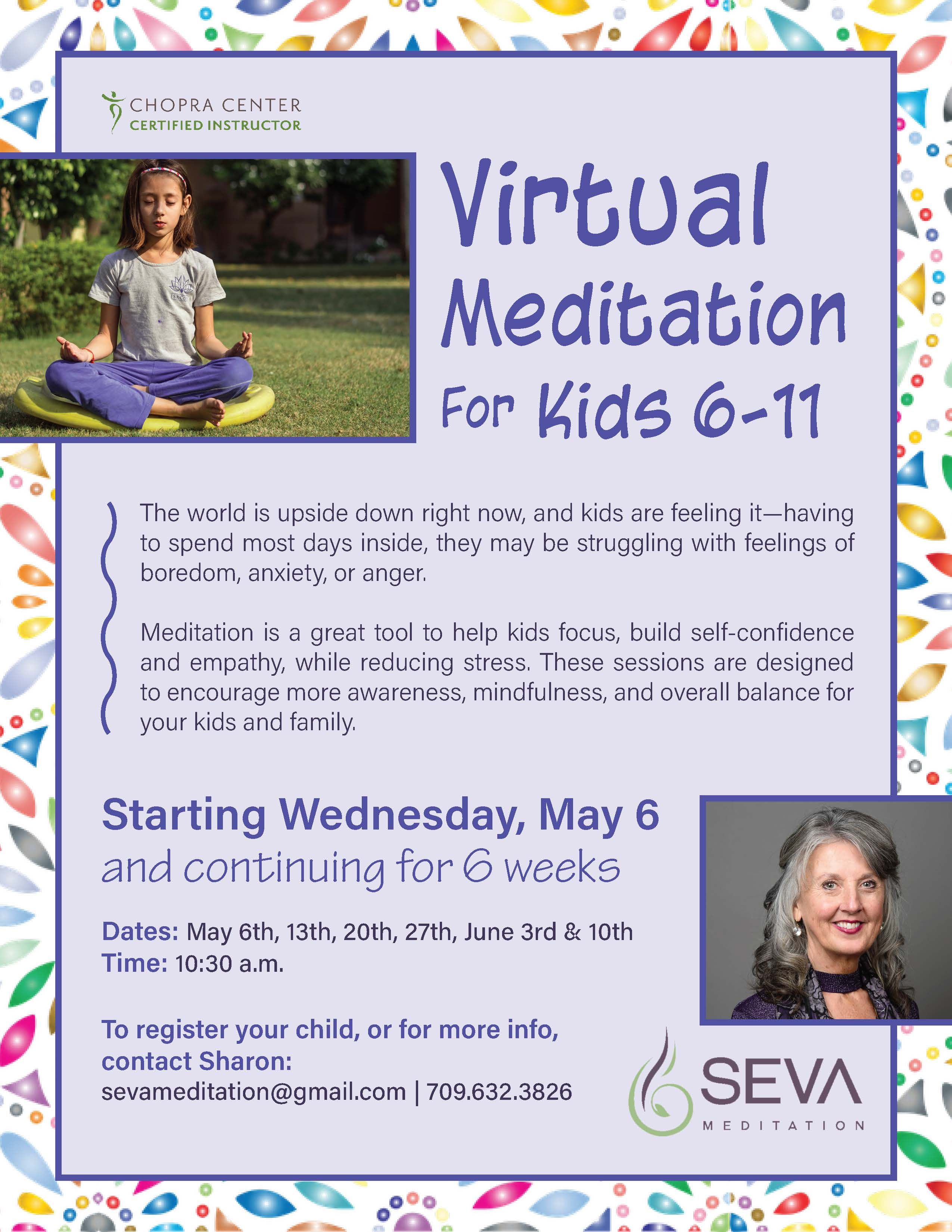Virtual Meditation For Children ~