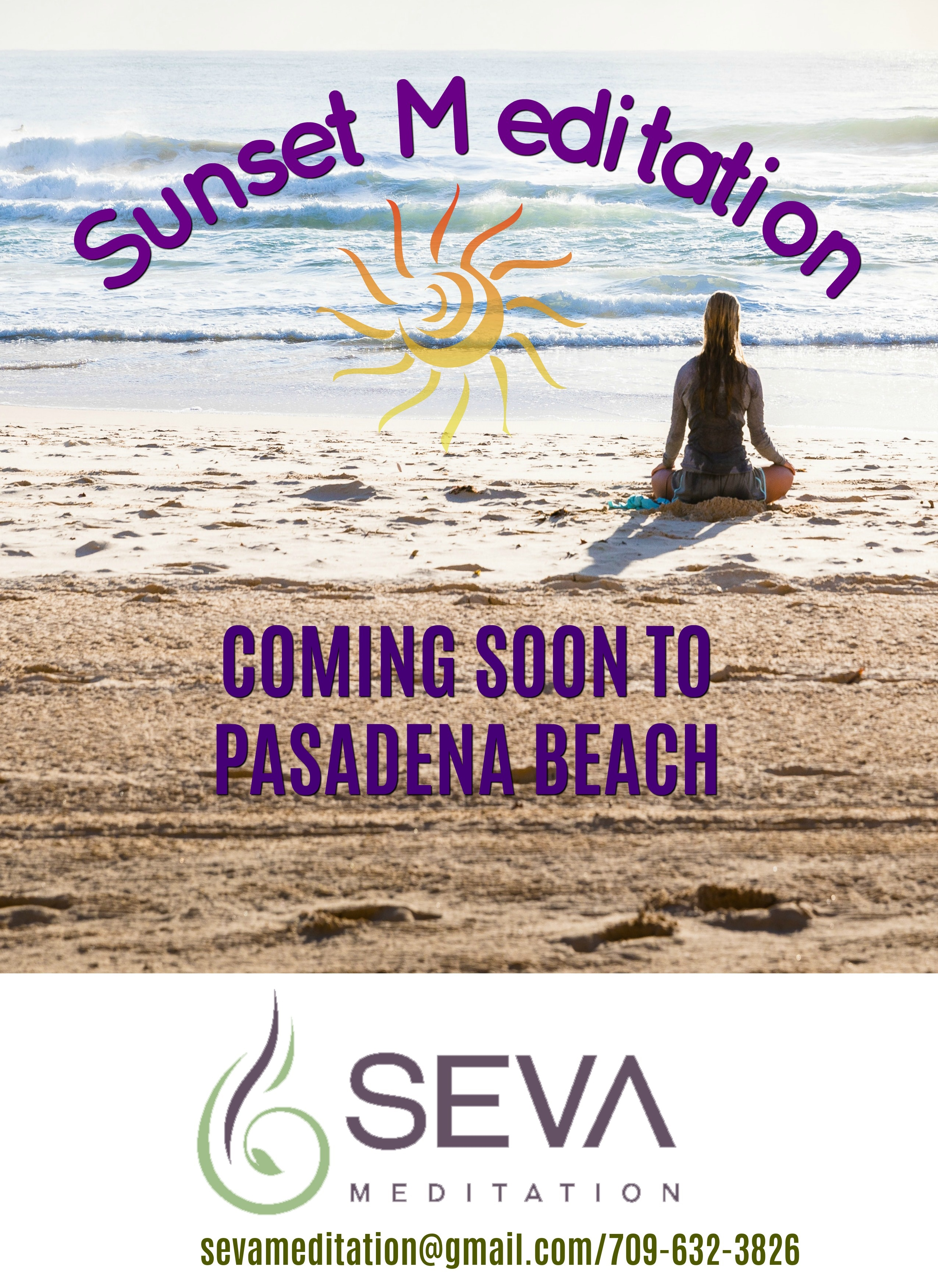 Sunset Beach Meditations 2020 ~ Pasadena Beach!